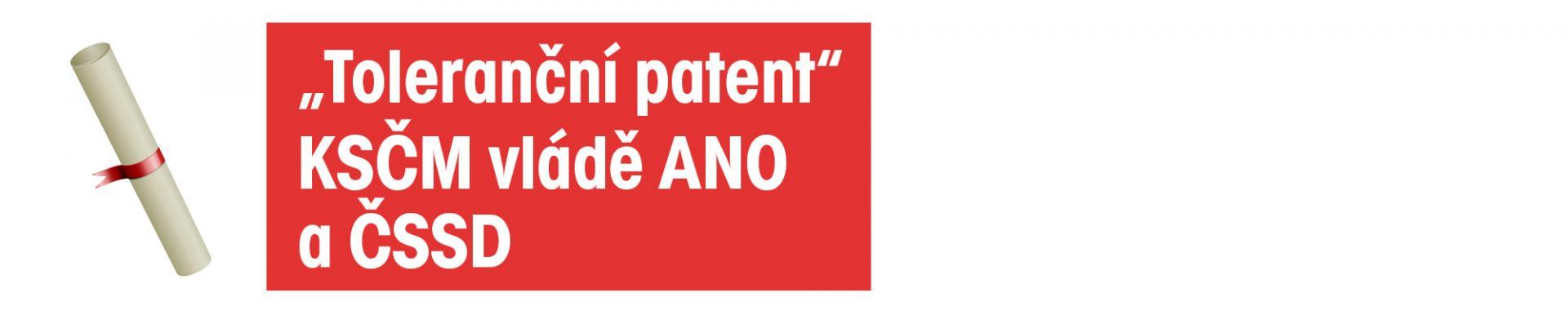 toleranční patent, ksčm